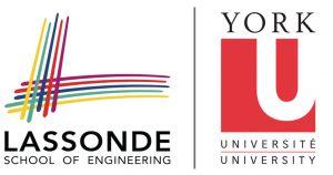 logos of Lassonde School of Engineering and York University