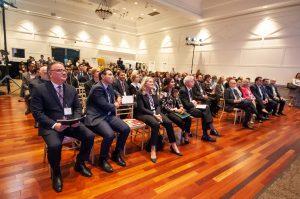 audience faces speaker