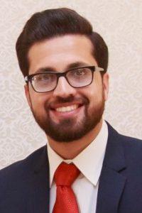 head shot of Usman Ahmed