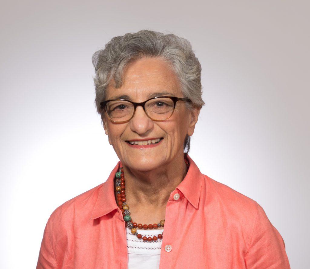 head shot of Dr. Genevieve Giuliano